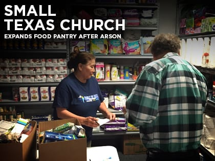 Small Texas Church Food Pantry Expands After Arson
