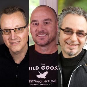Rob Wegner, Lance Ford & Alan Hirsch With Jonathan Sprowl