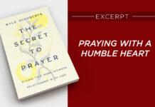 secret to prayer