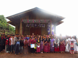 Thailand- village-church dedication